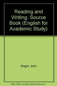 English for Academic Study - Reading and Writing Source Book- Edition 1