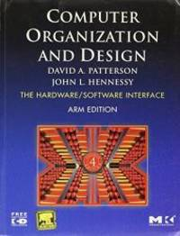 Computer Organization and Design (The Hardware/Software Interface) by David A Patterson - Paperback - 2010-03-03 - from Books Express and Biblio.com