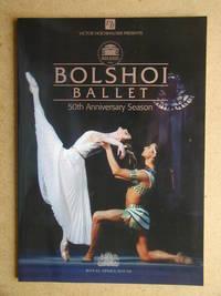 Bolshoi Ballet 50th Anniversary Season Programme.