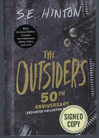 The Outsiders - 50th Anniversary Exclusive Edition - SIGNED BY S.E. HINTON