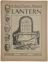 Lantern, a monthly counter-current publication, vol. 2, no. 3 (August, 1929). A Sacco-Vanzetti memorial