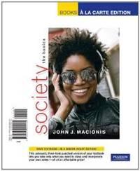 image of Society: The Basics, Books a la Carte Edition (11th Edition)