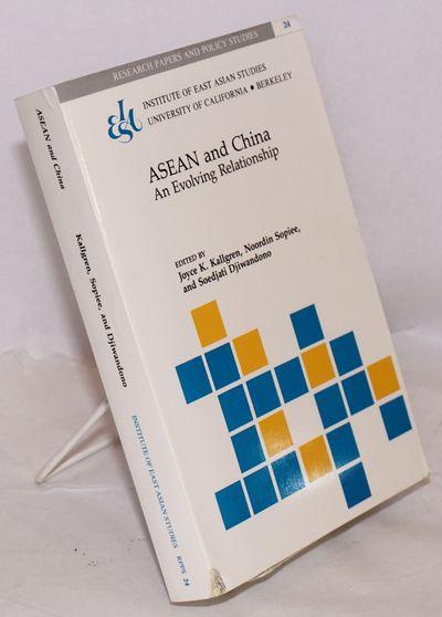 Berkeley: Institute of East Asian Studies, University of California, 1988. xiii, 368 p., very good b...