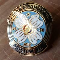 Dead and Company - 2019 - Tour Pin - Jiffy Lube Center (Bristow, VA)