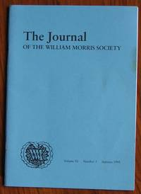image of The Journal of the William Morris Society Volume XI Number 3 Autumn 1995