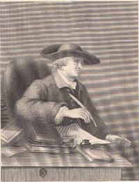Vintage William Hogarth Engraving of T. Morrell 1850