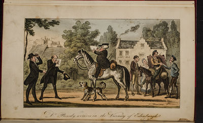 London: Matthew Iley, 1821. Twenty Humorous Hand Colored Plates by Charles Williams and William Read...