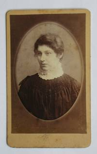 Carte De Visite Photograph. A Studio Portrait of a Young Woman.