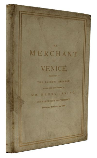 The Merchant of Venice, a comedy in...