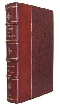 Oxford and Cambridge Miscellany Poems