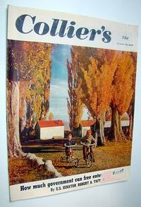 """Collier's, The National Weekly Magazine, October 29, 1949 - The Senseless Killing of Margaret Mitchell (author of """"Gone With the Wind"""")"""