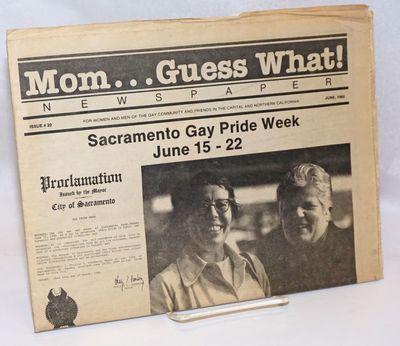 Sacramento: MGW, 1980. Newspaper. 20p. folded tabloid newspaper, articles, columns, services, listin...