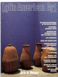image of LATIN AMERICAN ART FALL 1990 VOLUME 2 NUMBER 4