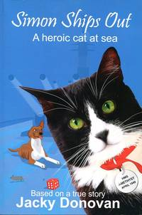 image of Simon Ships Out. A heroic cat at sea: How one brave, stray cat became a worldwide Hero
