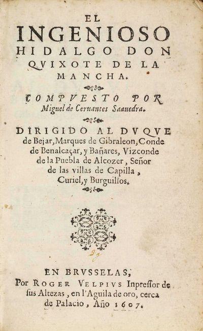El ingenioso hidalgo don Quixote de...
