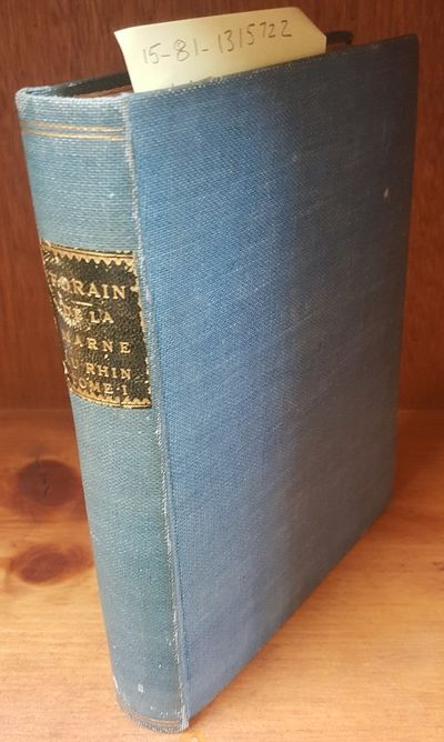 Editions Pierre Lafitte, 1920. Hardcover. Octavo; Fair/no DJ; Hardcover w/out DJ; Spine, blue with g...