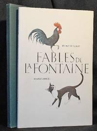 Fables de La Fontaine; Peint et ecrit Marie Angel