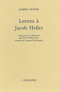 Lettres à Jacob Heller