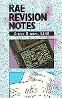 R.A.E. Revision Notes