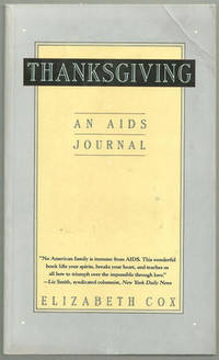 Image for THANKSGIVING An AIDS Journal