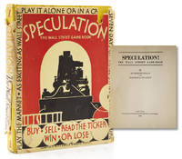 image of Speculation! The Wall Street Game-Book