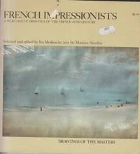 French Impressionists:  selection of drawings of the French 19th cent by Moskowitz - 1962 - from Hard-to-Find Needlework Books (SKU: 37886)