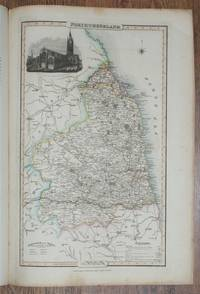 1839 Map of the County of Northumberland - taken from Pigot and Co's British Atlas Comprising the Counties of England (upon which are laid down all railways completed and in progress)
