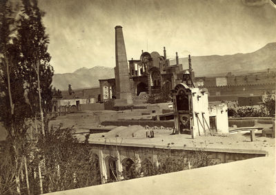 Four early photographs of Iran/Persia