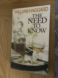 The Need to Know     **1st edition/1st printing**