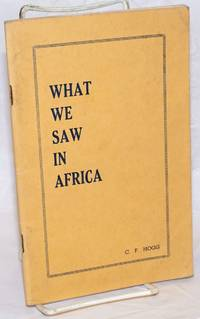 What we saw in Africa