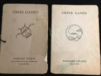 image of Greek Games (Programs for 1915 and 1916) 2 Issues