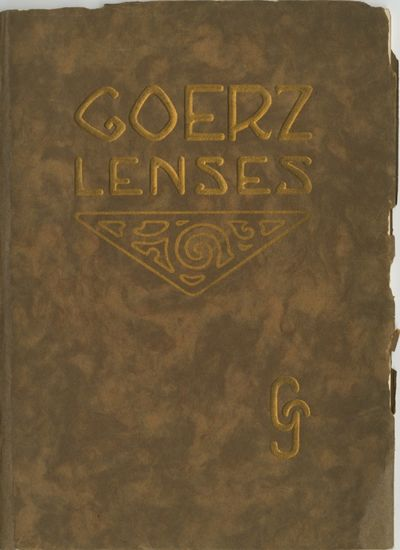 NY: C.P. Goerz American Optical Co, 1909. 8vo., 64 pp., numerous b&w photographs and illustrations. ...