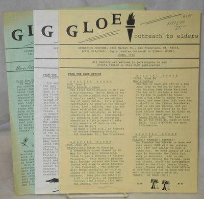 San Francisco: Operation Concern/GLOE, 1987. 3 issues, 4 panels each, 8.5x11 inches, calendar of eve...