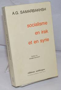 image of Socialisme en Irak et en Syrie; Preface de Pierre Rondot