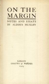On the Margin, Notes and Essays