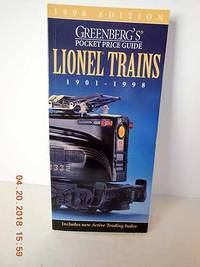 Greenberg's Pocket Price Guide Lionel Trains 1901-1998