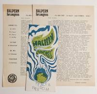 image of Halpern for Congress [three items]