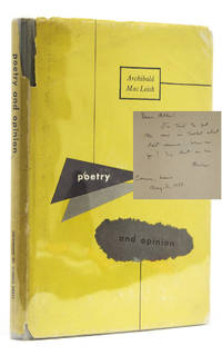 image of Poetry and Opinion