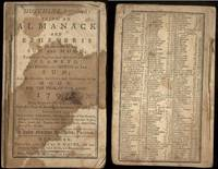 HUTCHIN'S IMPROVED: BEING AN ALMANACK AND EPHEMERIS. 1792