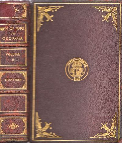Atlanta: A, B. Caldwell, 1910. First Edition. Leather_bound. Very good. 8vo. , viii, 450pp., . Illus...