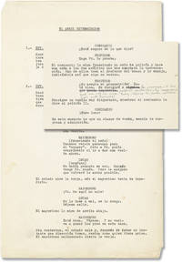 The Exterminating Angel (Original screenplay for the 1962 film, annotated throughout by Bunuel)
