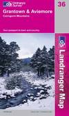 image of Grantown, Aviemore and Cairngorm Mountains (Landranger Maps)