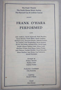 Frank O'Hara Performed