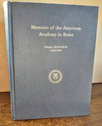 image of Memoirs of the American Academy in Rome, Vol. 43 / 44 (1999) (V. 43 & 44)
