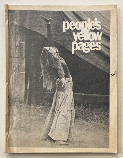(Counter-Culture) People's Yellow Pages. Cambridge, MA: Vocations for Social Change, November 1971. ...