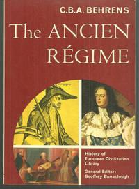 ANCIEN REGIME, Behrens, C. B. A