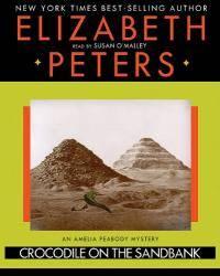 image of Crocodile on the Sandbank (LIBRARY EDITION) (Amelia Peabody Mysteries)