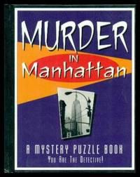MURDER IN MANHATTAN - A Mystery Puzzle Book