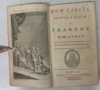 image of Don Carlos, Prince of Spain. A Tragedy