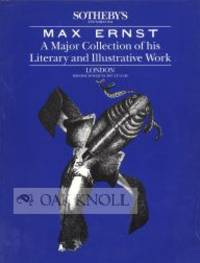 London: Sotheby's, 1987. stiff paper wrappers. Ernst, Max. small 4to. stiff paper wrappers. 63 pages...